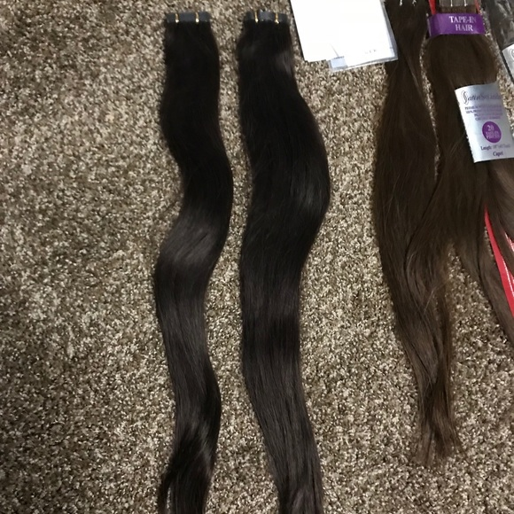 Satin Strands Other Tape In Human Hair Extensions Poshmark